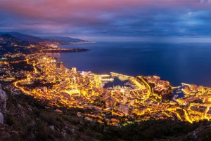 From Nice: Evening Tour & Dinner in Monte Carlo