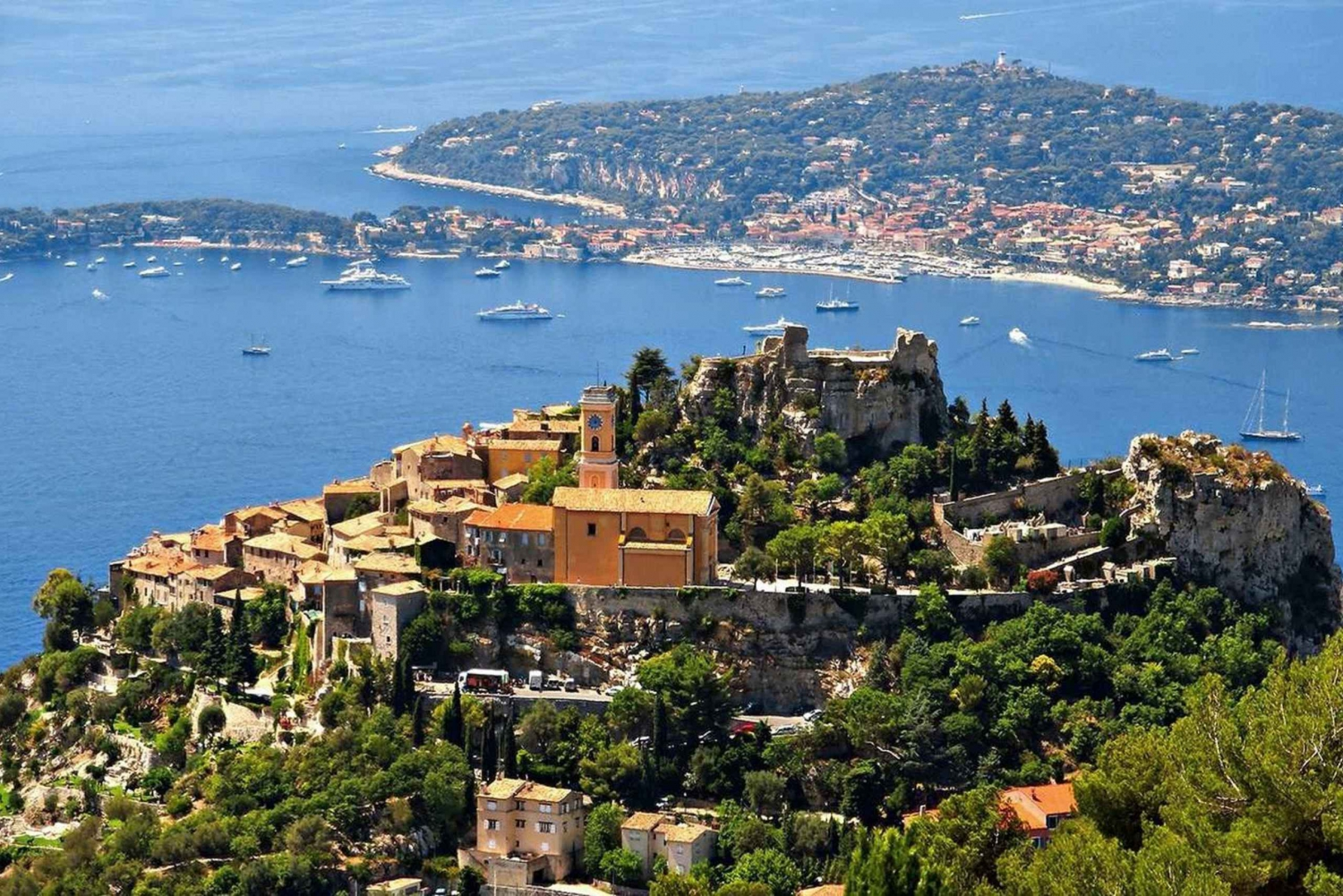 From Nice: Eze Village, Monaco and Monte Carlo Full Day Tour