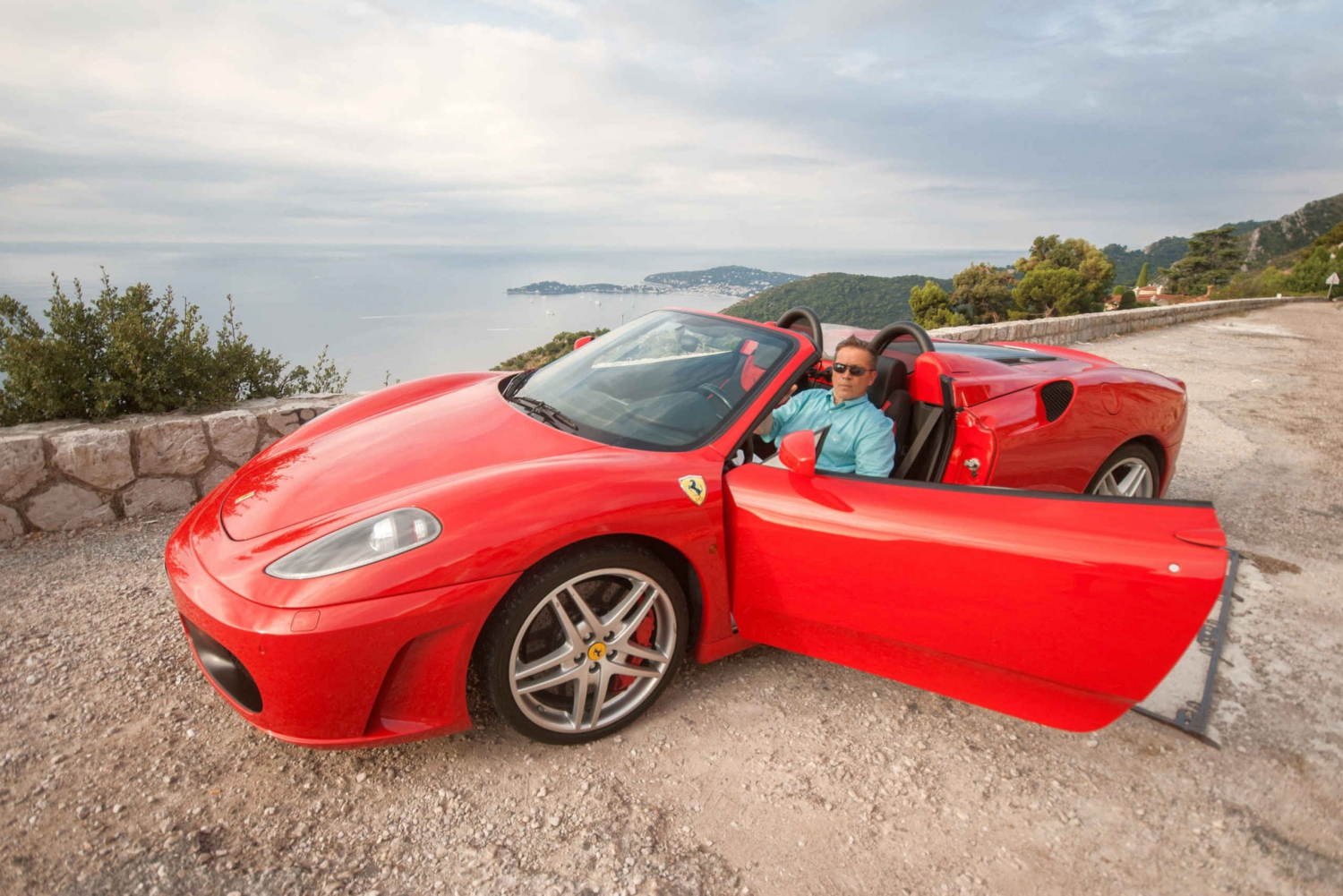 From Nice: Ferrari Driving Experience on the French Riviera