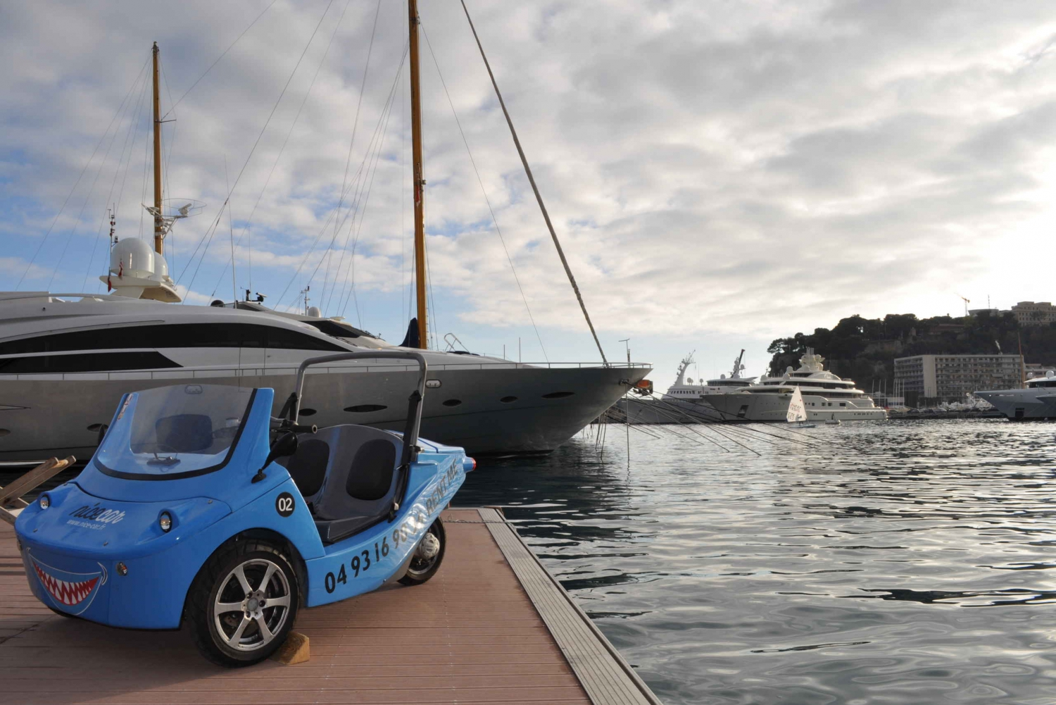 From Nice: French Riviera by Open-Top Car