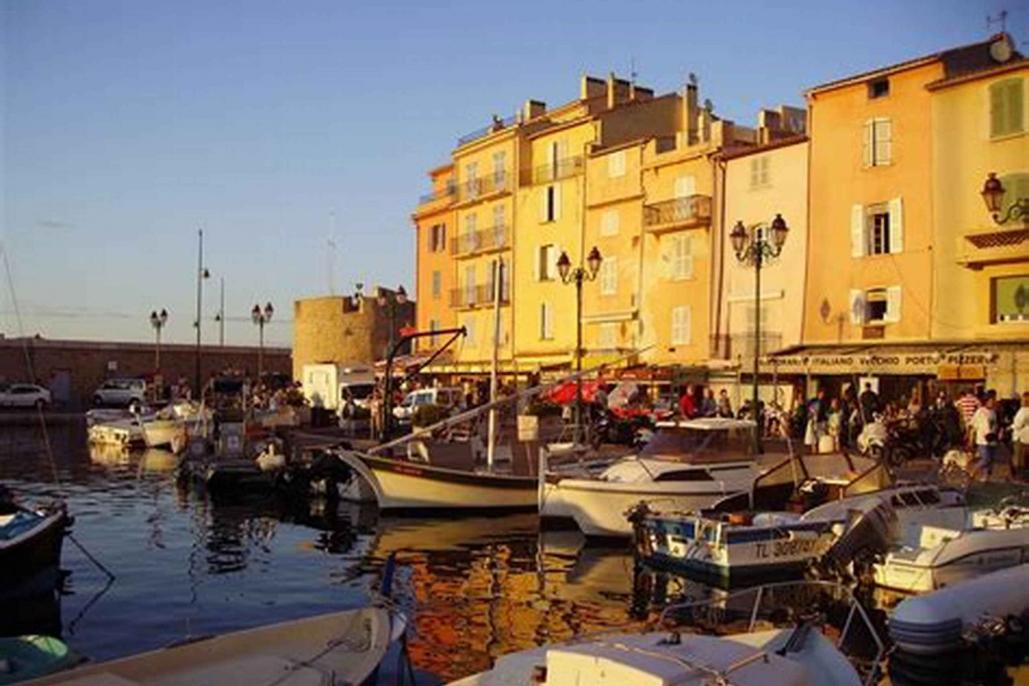From Nice: Saint-Tropez and Port Grimaud