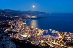 Monaco by Night 4-Hour Minivan Tour from Nice