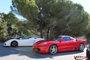 Nice: 1-Hour Ferrari California T Drive