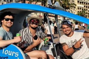 Nice: Guided City Tour by Electric Pedicab