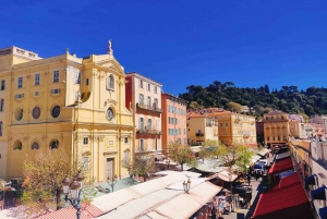 Nice Old Town and Castle Hill: Guided Cultural Walking Tour