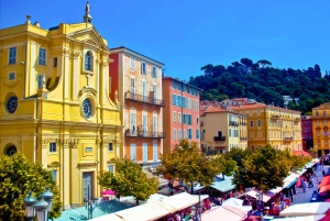 Nice: Old Town Treasures Walking Tour and Castle Hill Option
