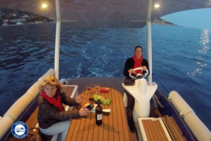 Nice: Private Evening Tour on Solar Powered Boat
