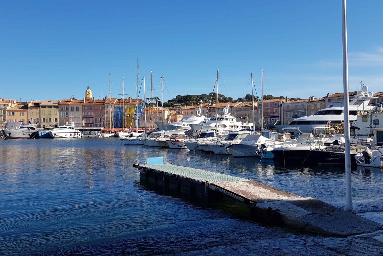 Saint-Tropez from Toulon, Hyères, La Londe