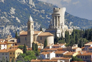 Shared Full-Day Italian Market, Menton & La Turbie Tour