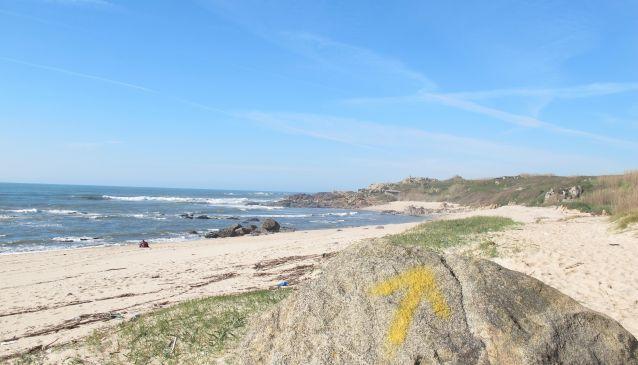 The Portuguese Coastal Way from Porto to Santiago