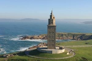 From Santiago de Compostela: La Coruña, Muxía, Cape Fisterra