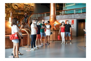 La Coruña: Guided Tour at MEGA - Mundo Estrella Galicia