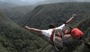 Bungee Jumping at the Bloukrans Bridge