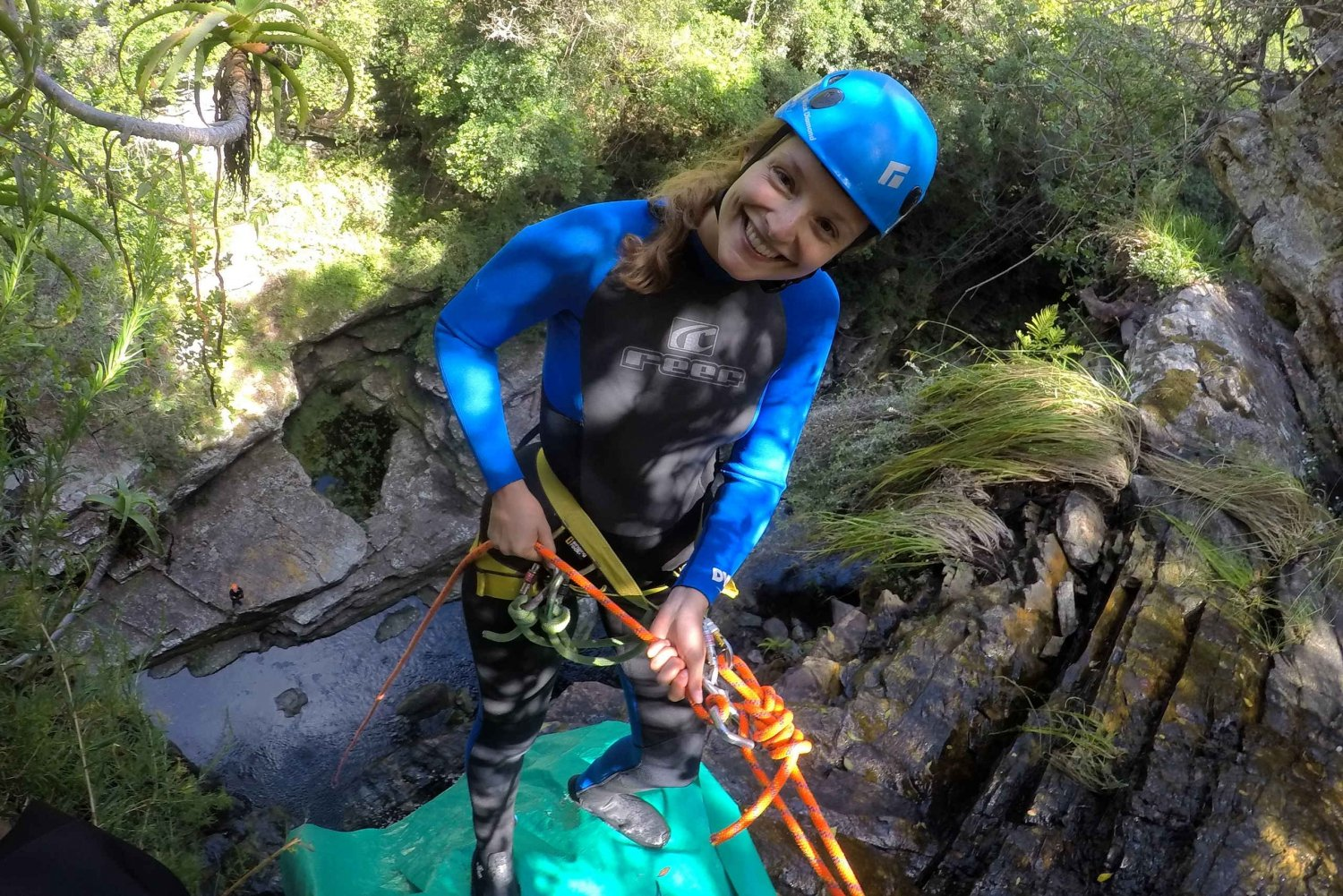From Wilderness: Kaaimans River Canyoning Trip and Abseil