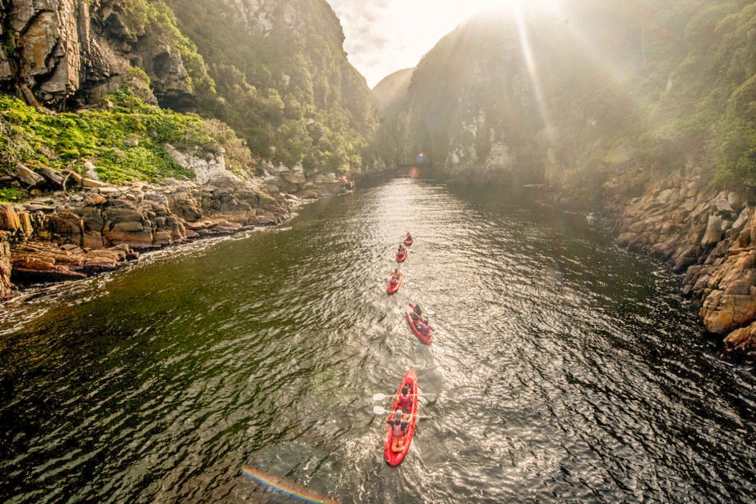Tsitsikamma National Park: Storms River Kayak and Lilo Tour
