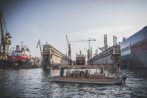 Cruise on Historical Polish Boat through Shipyard