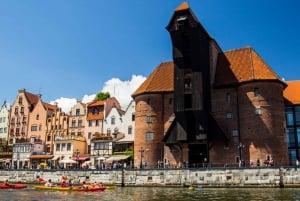 Gdansk: Guided Kayak Tour