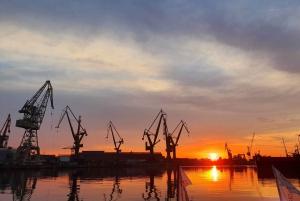 Gdansk: Imperial Shipyard Sunset Galley After Dark Cruise