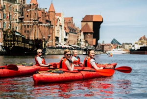 Gdańsk: Islands and Canals Private Kayak Tour