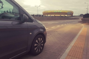 Gdansk: Private Transfer from Airport (GDN) to City Center