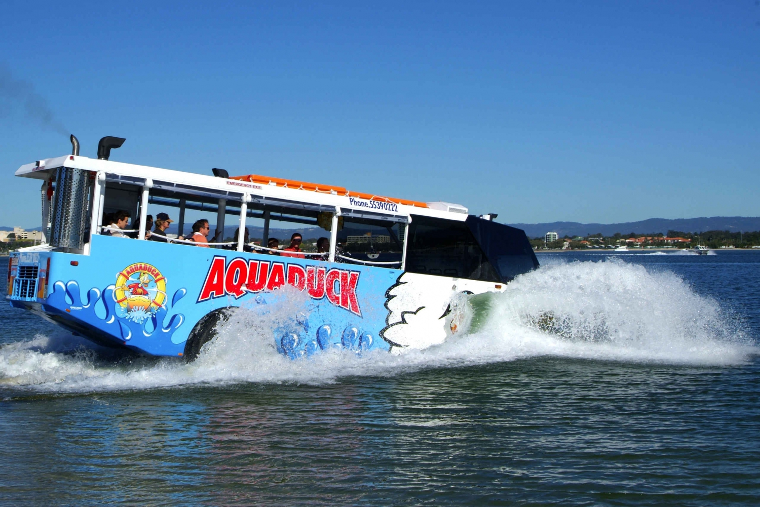 Aquaduck City Tour and River Cruise