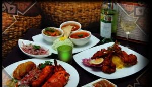 Goa Indian Fusion Restaurant.