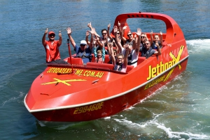 Gold Coast: Jet Boat Ride and Scenic Helicopter Tour