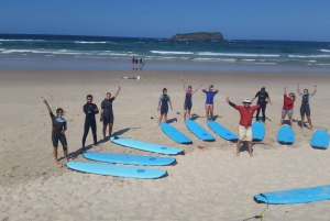 Gold Coast: Learn to Surf Experience with Lunch & Activities