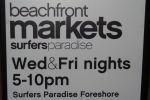 Surfers Paradise Beachfront Markets