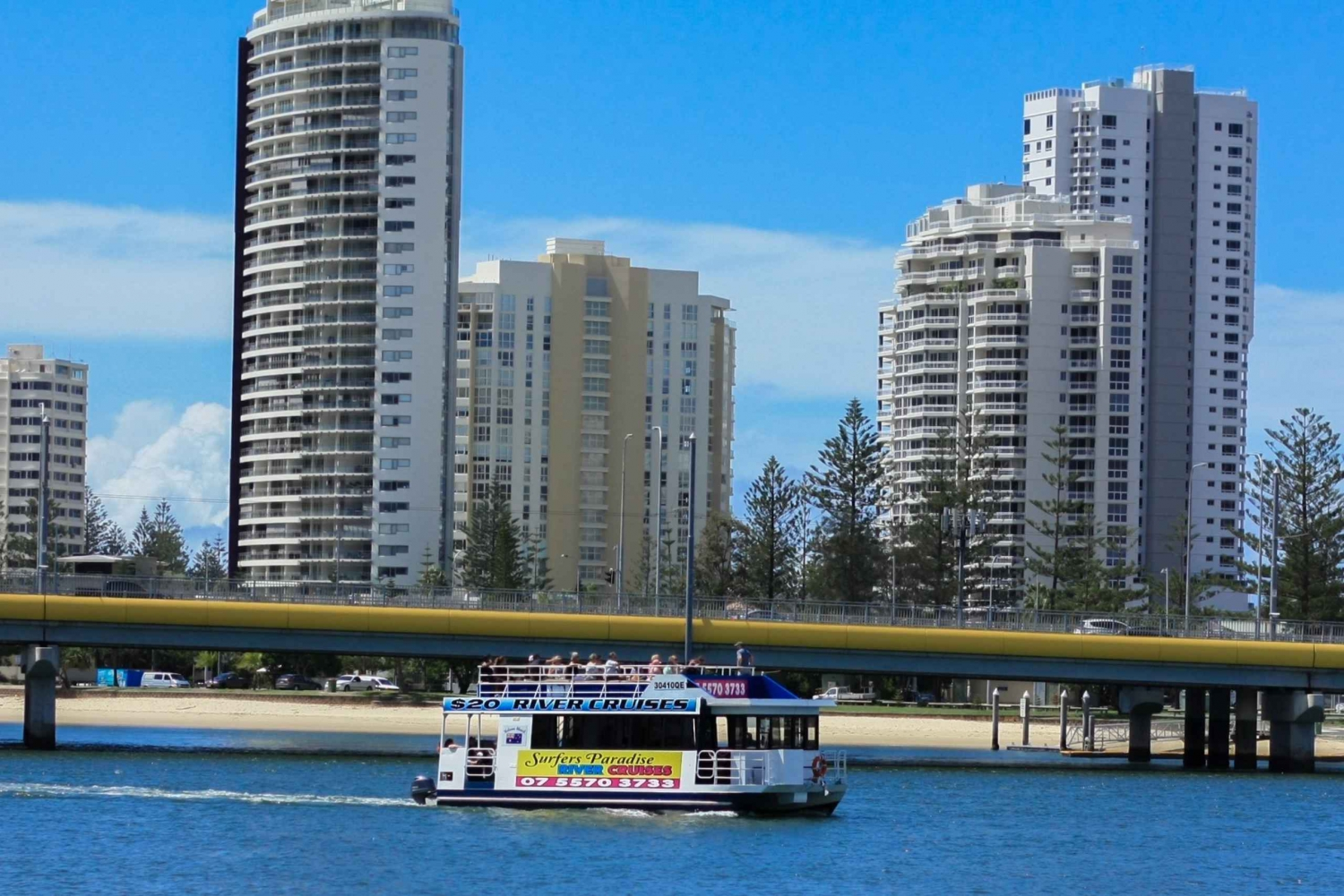 Surfers Paradise: Gold Coast Afternoon River Cruise