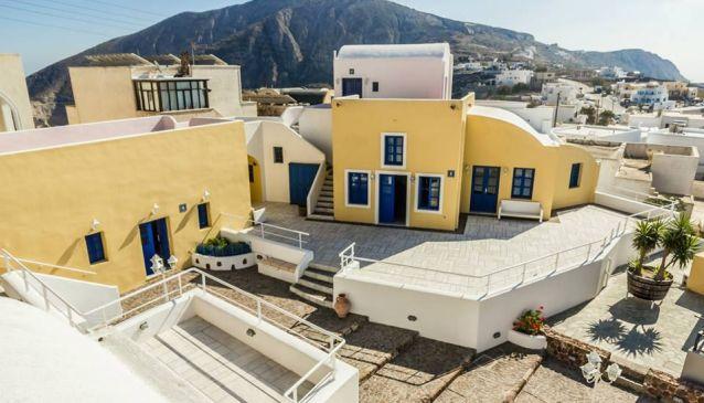 Santorini of the past