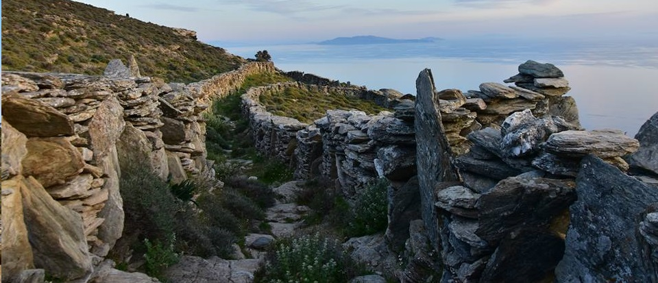 A Halloween hiking escape in Andros