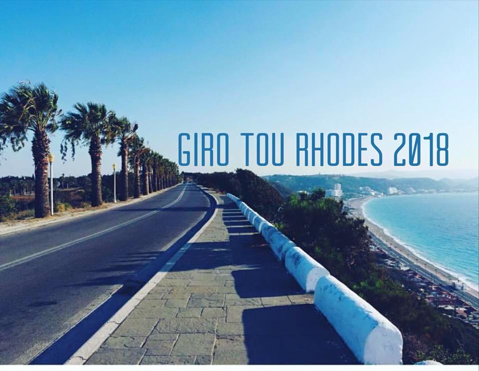 Rhodes cycling Giro tour 2018