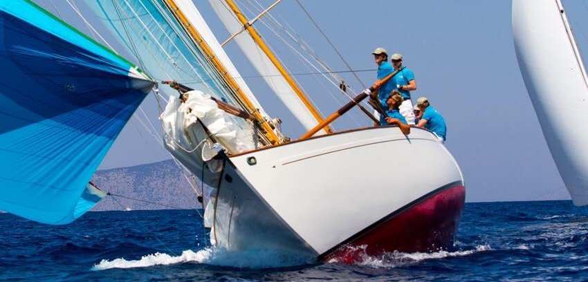 Spetses Classic Yacht Race 2017
