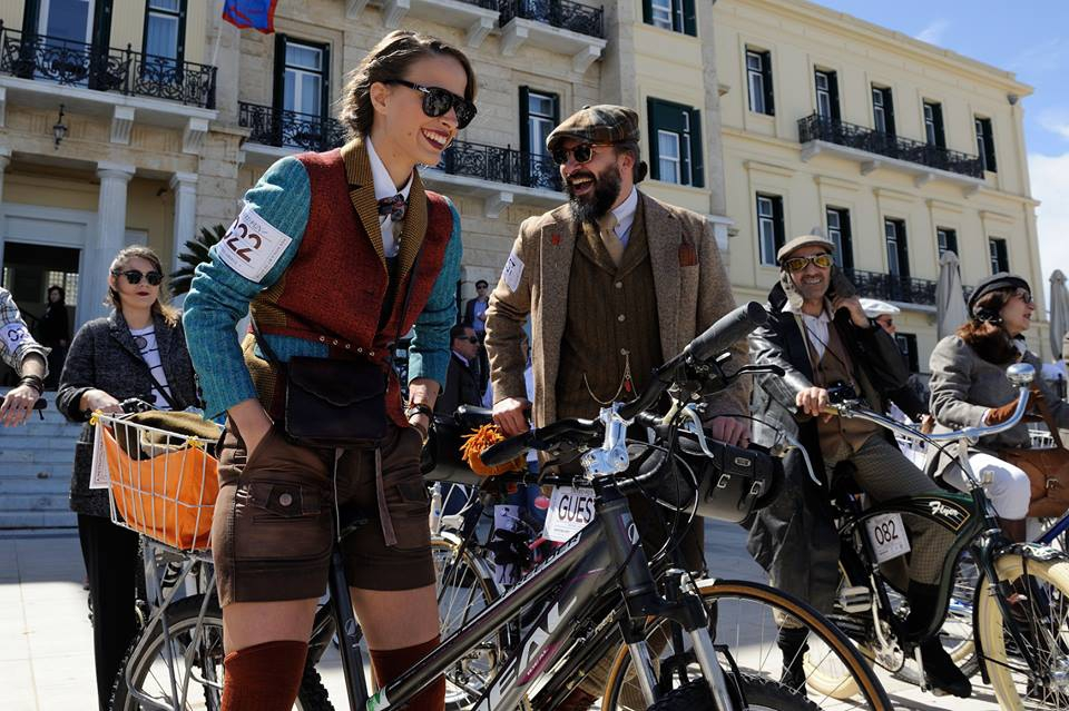 The 5th Tweed Run on Spetses