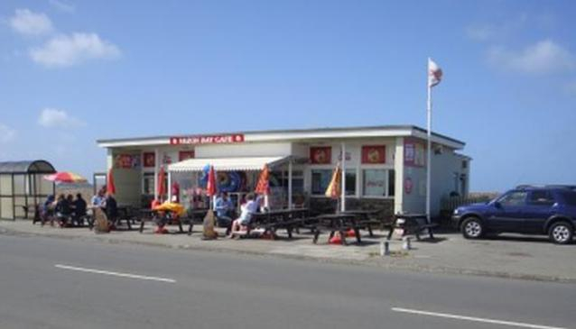 The Vazon Bay Cafe
