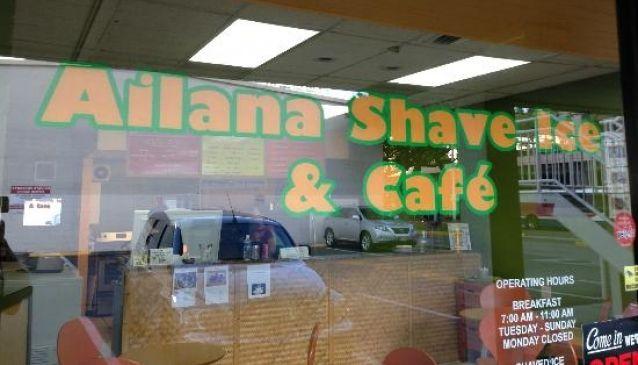 Ailana Shave Ice & Cafe