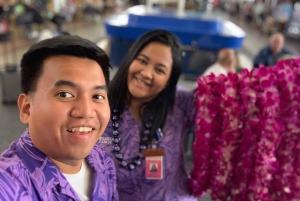 Big Island: Hilo Airport Honeymoon Lei Greeting