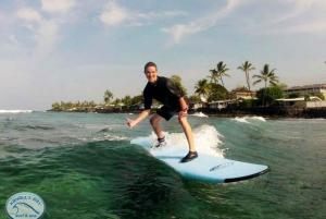 Big Island: Kona 2-Hour Small Group Surf Lesson