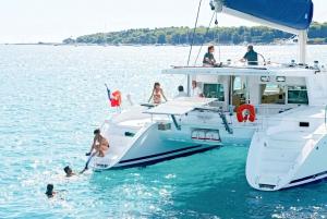Big Island: Luxury Catamaran Trip along the Kona Coast
