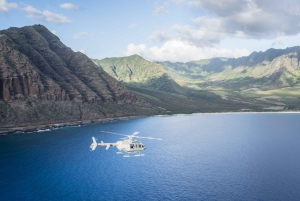 From Kapolei: Doors-Off Legends of West Oahu Helicopter Tour