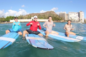 From Waikiki: 2-Hour Beginner Group Surf Lesson
