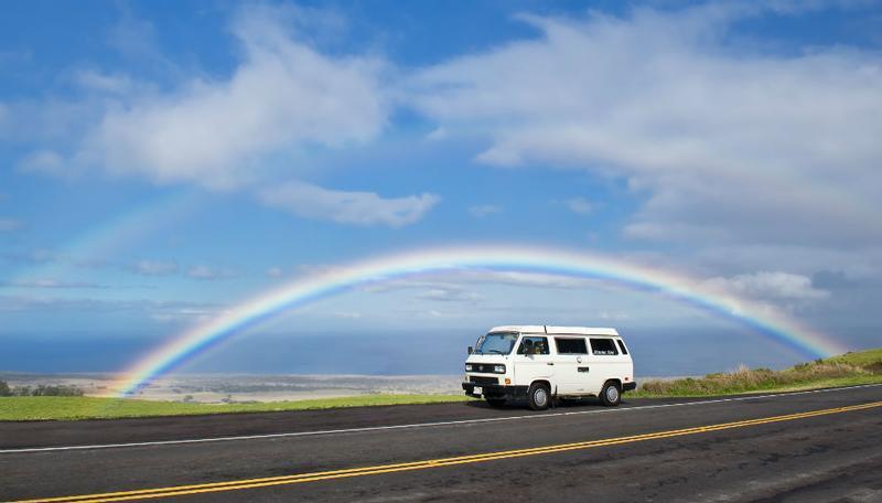 99234fce99 Inside of VW  Happy Campers Hawaii  Travel by Camper Van ...