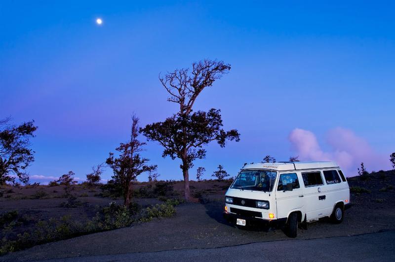 e12d4d686e ... Happy Campers Hawaii  Camper Van at the Beach  Camper Van Experience ...