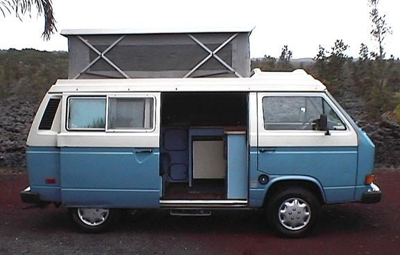 489fd12a6a Photos of Happy Campers Hawaii. Inside of VW ...