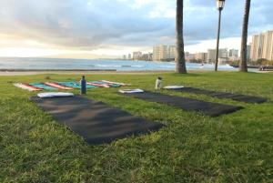 Island Style Power Vinyasa Yoga on the Beach