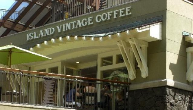 Island Vintage Coffee, Royal Hawaii Center