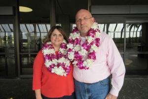 Kauai: Lihue Airport Honeymoon Lei Greeting