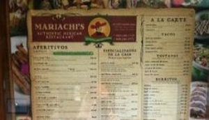 Mariachi's Authentic Mexican Restaurant