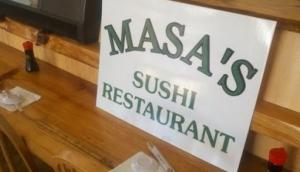 Masas Sushi INSIDE Kibo Restaurant